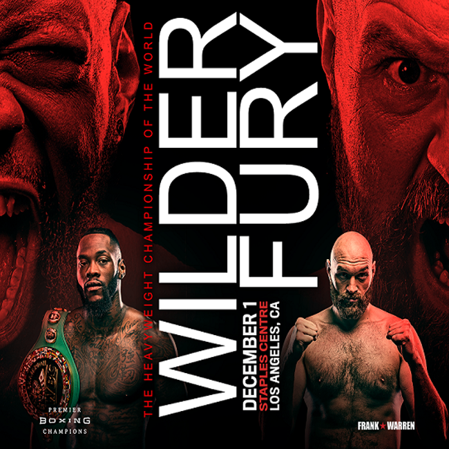 Fury vs Wilder Boxing