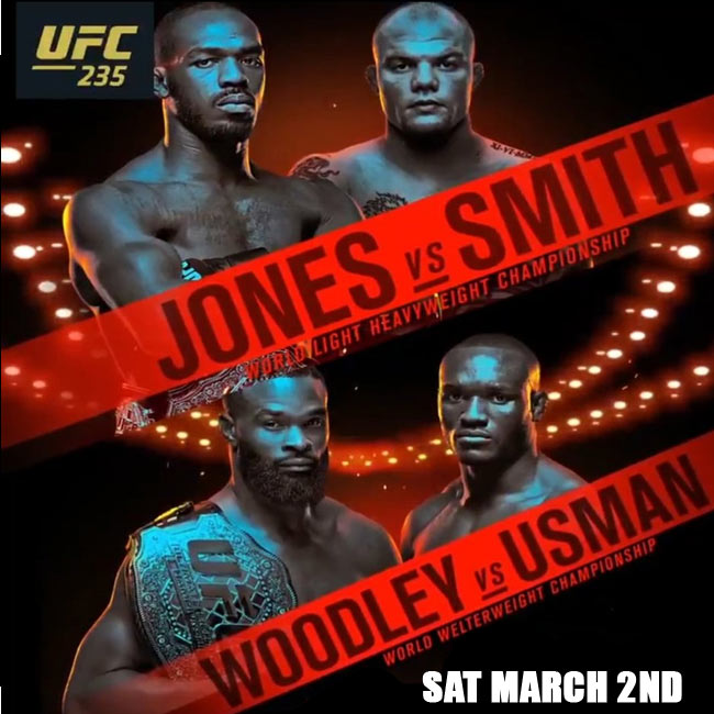 Watch Jones vs Smith UFC 235